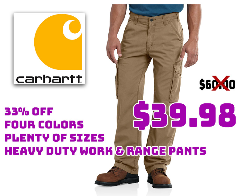 Carhartt Force Tappen Cargo Pants Just $39.98… 33% OFF!