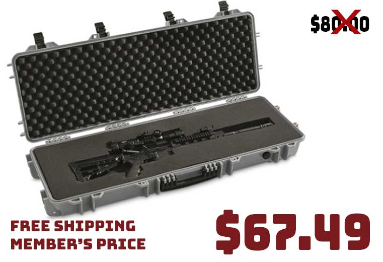 HQ ISSUE Tactical Hard Rifle Case $67.49 FREE S&H ~ TSA Approved