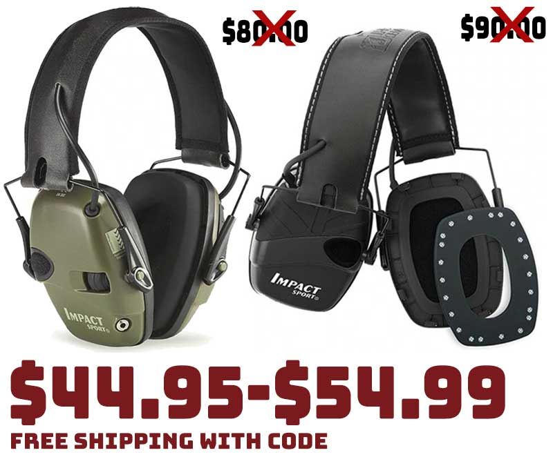 Howard Leight Electronic Hearing Protection $49.99