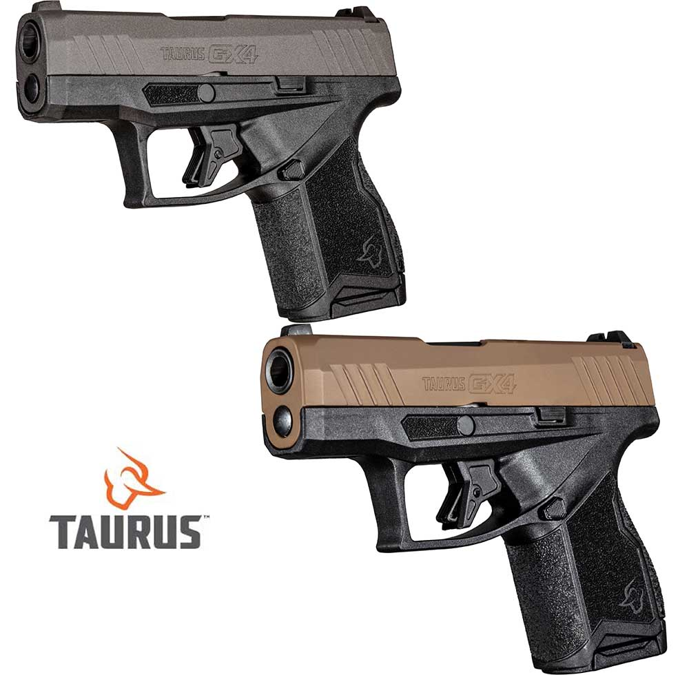 Taurus GX4 Now with New Color Options