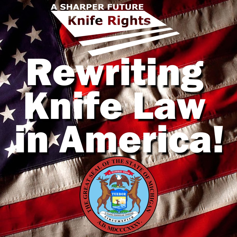 House Passes Michigan Knife Law Preemption Bill w/ Bipartisan Support