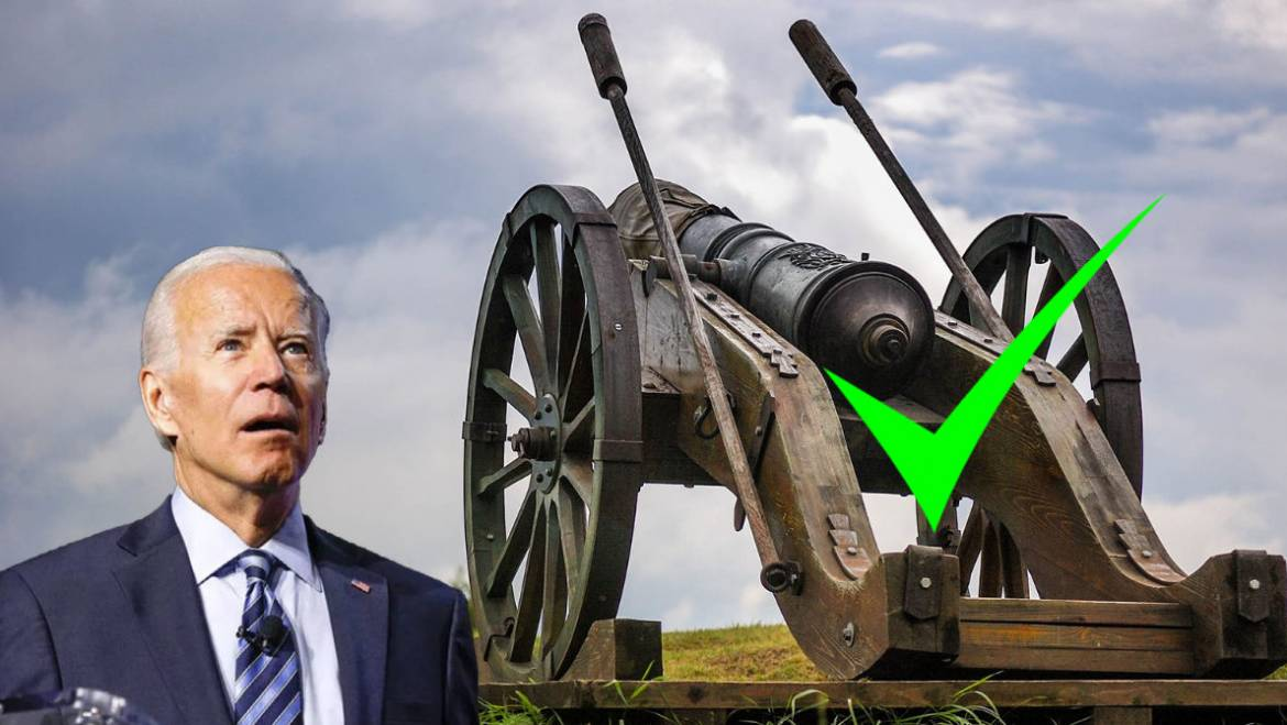 Actually, Mr. President, You CAN Own a Cannon