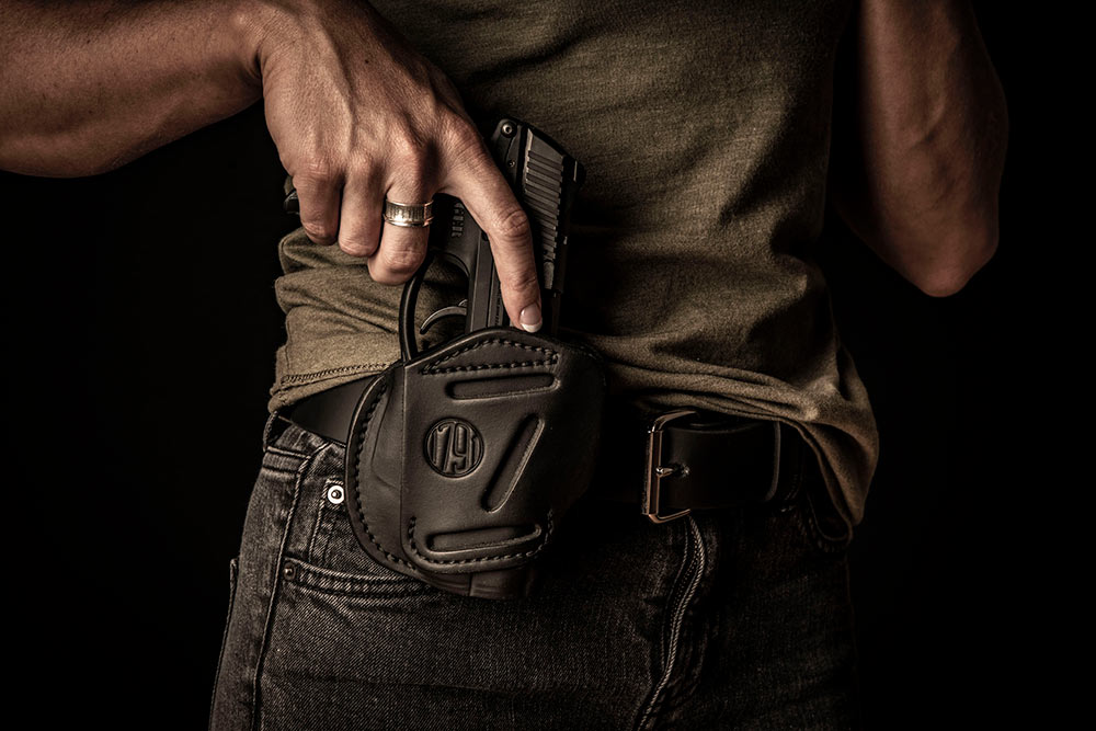 1791 Gunleather 4-Way, 3-Way, and 2-Way Holsters Work with Lasers