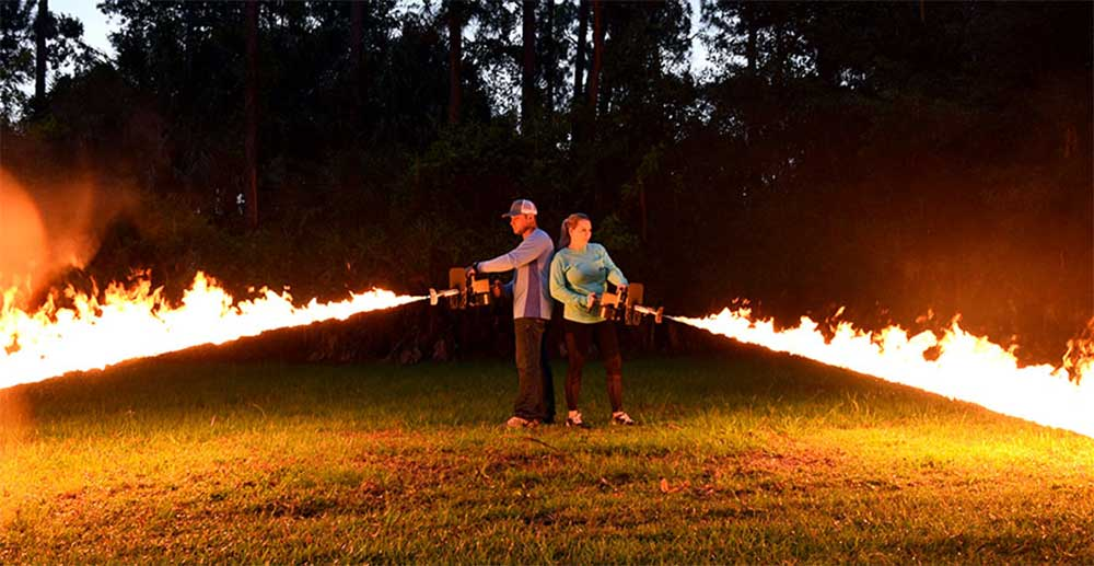 Exothermic Pulsefire LRT Flame Thrower $649.99 FREE S&H CODE
