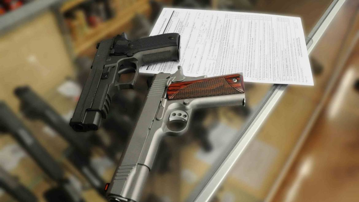 Gun Sales Drop Significantly in June of 2021
