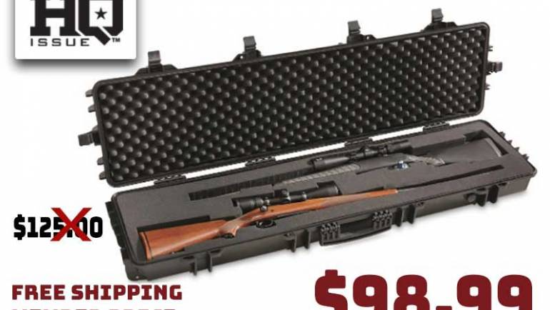 HQ ISSUE Large Double Carry Gun Case $98.99 FREE SHIPPING