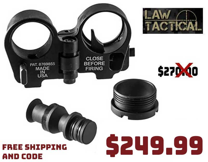 Law Tactical AR15 Gen3-M Folding Stock Adapter $249.99 FREE S&H CODE