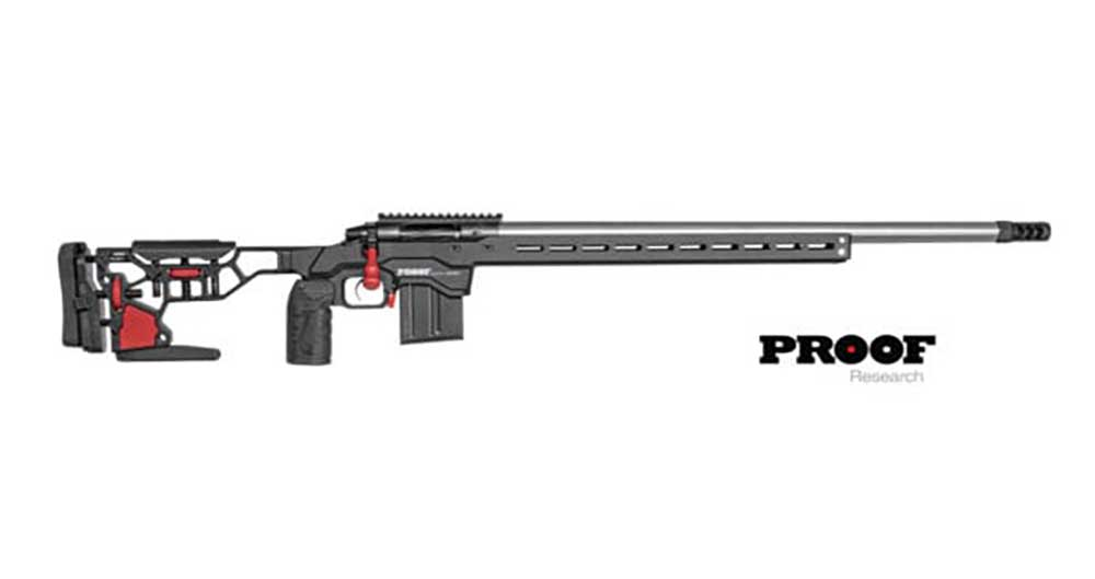 Introducing the PROOF Research MDT Chassis Rifle