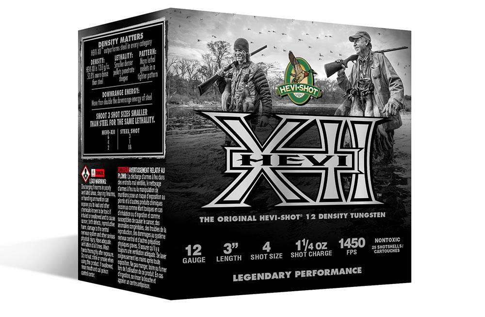 HEVI-Shot Introduces New HEVI-XII Tungsten Waterfowl Loads