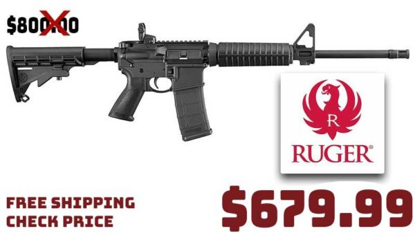 RUGER AR-556 223/5.56 16.1″ Rifle $679.99