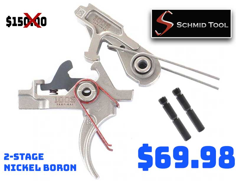 Schmid Tool 2-Stage Nickel Boron Plated Trigger just… $69.98