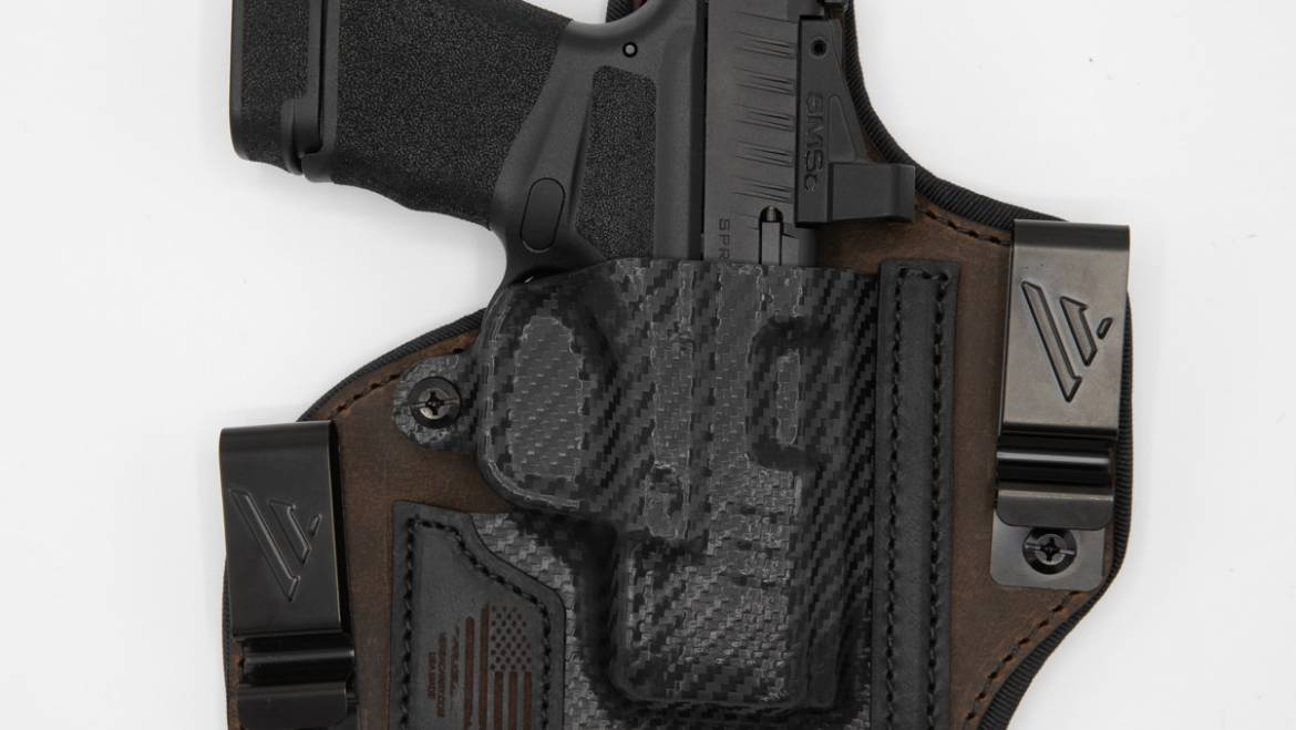 The New Optics Compatible Rebel IWB Holster from Versacarry