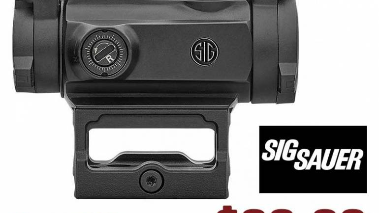 Sig Sauer SORJ72001 Romeo MSR Combo KIT 1X20MM Compact RED DOT w/ Magnifier $279.26