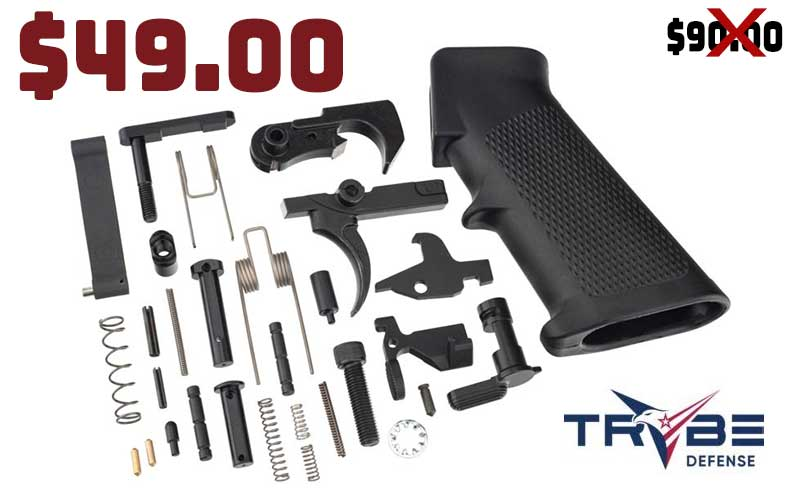 TRYBE Defense Mil-Spec Complete Lower Parts Kit now..$49.00 Sale Ends 7/17