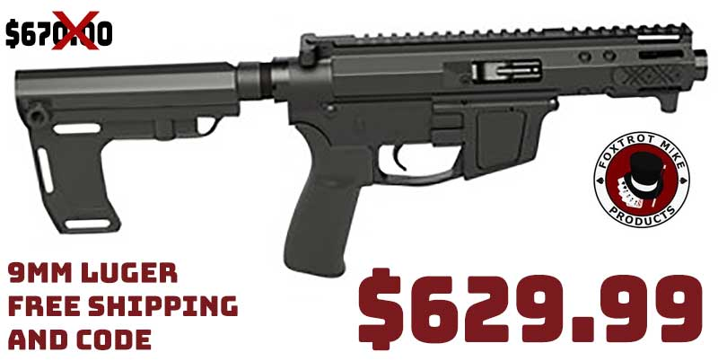 Foxtrot Mike Products FM-9B Enhanced Pistols Starting at $629.99 FREE S&H