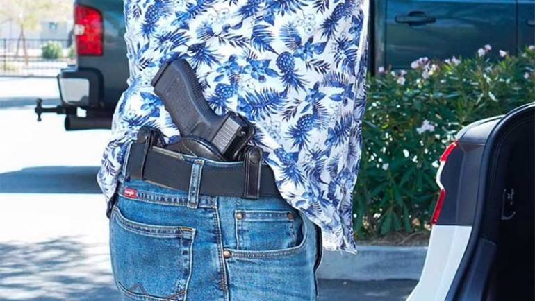Galco's V-Hawk IWB Holster Means Comfort, Speed, Stability & Versatility