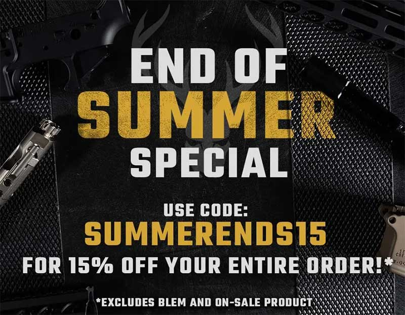 Stag Arms 15% Off End-Of-Summer Sale, Stag 15 Tactical Pistol $934.99
