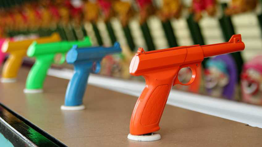 Kids Exposed to Toy Guns Aren't Prone to Violence