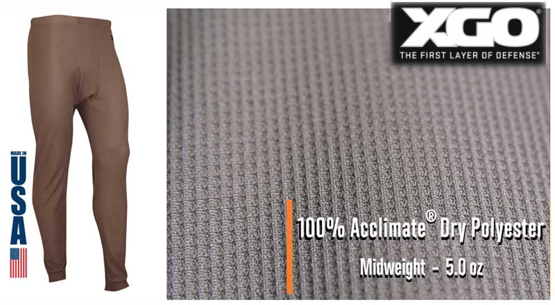 XGO Midweight Performance Base Layers Review