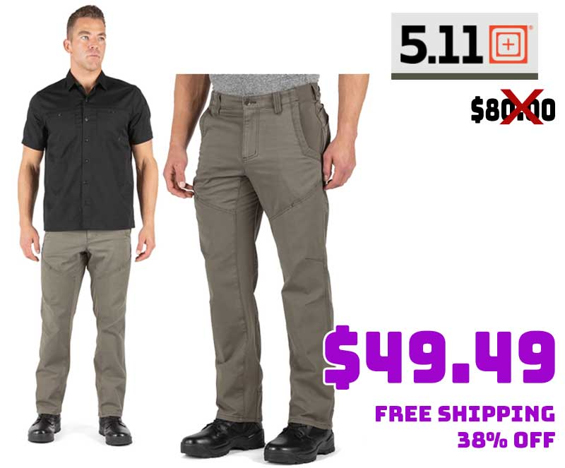 5.11 Tactical Quest Pant Ranger Green $49.49 38% OFF FREE S&H