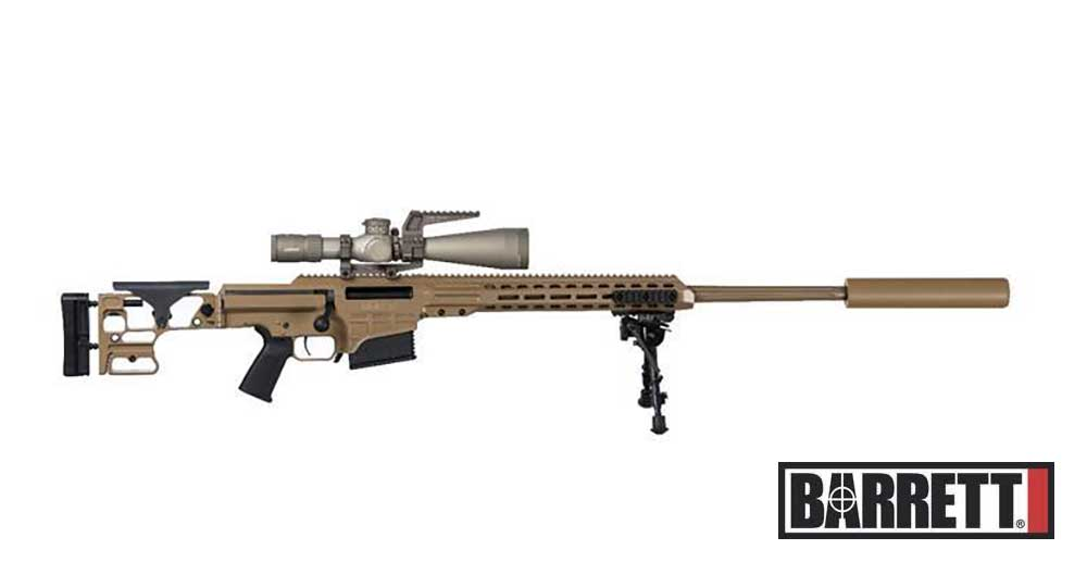 Barrett Ships First MK22 Order for US Army's Precision Sniper Rifle Contract