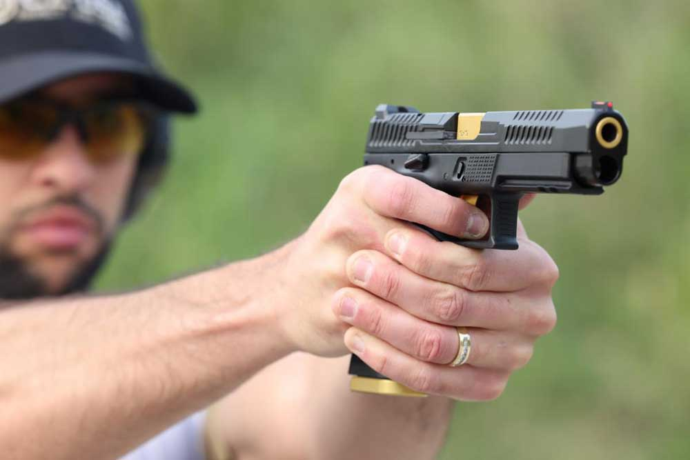 CZ Expands Striker Pistol Line with New P-10 F Competition-Ready