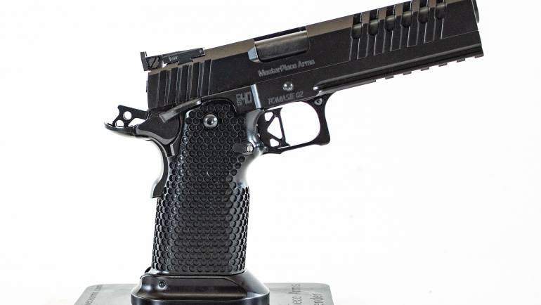 Introducing MPA DS40 Travis Tomasie (TT) Competition Pistol from MasterPiece Arms