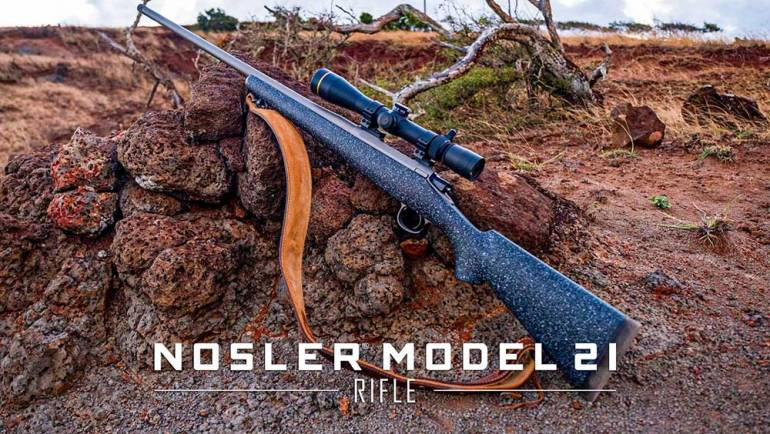Nosler Expands Rifle Line with All-New Model 21 Rifle