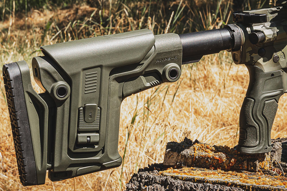 RAPS-C Collapsible Stock New From FAB Defense ~ VIDEO
