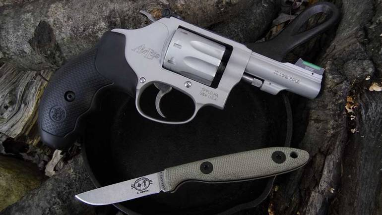 Smith & Wesson Model 317 Kit Gun, a Perfect Survival Tool ~ VIDEO