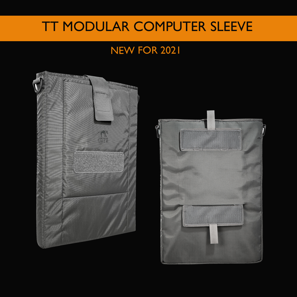Tasmanian Tiger TT Modular Computer Sleeve: Protection for Your Connection