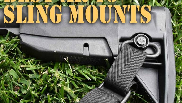 5 of the Best AR15 Sling Mount, Lets See if You Disagree?