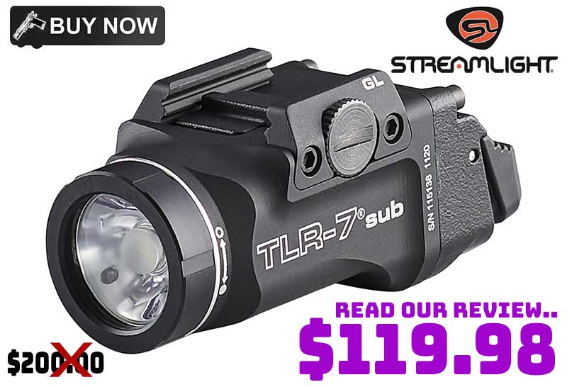 Streamlight TLR-7 Sub Weapon Light …just $119.98 40% OFF