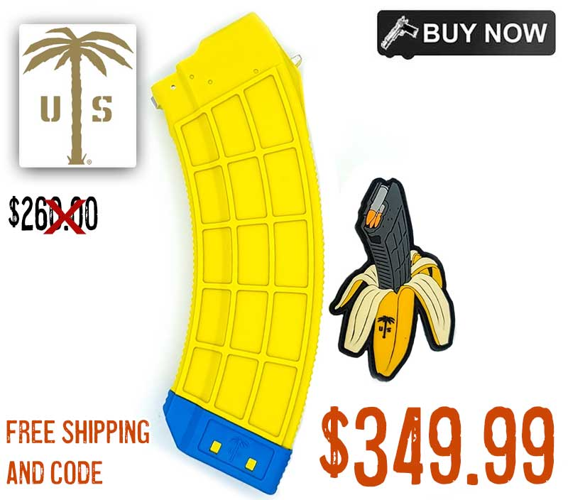 US Palm Polymer 7.62X39 30rnds Banana Mags, Special Edition $25.99ea